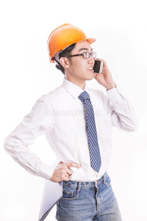 Jonge Ingenieur stock fotografie