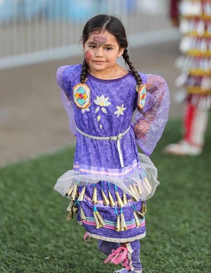Jonge Inheemse Danser royalty-vrije stock fotografie