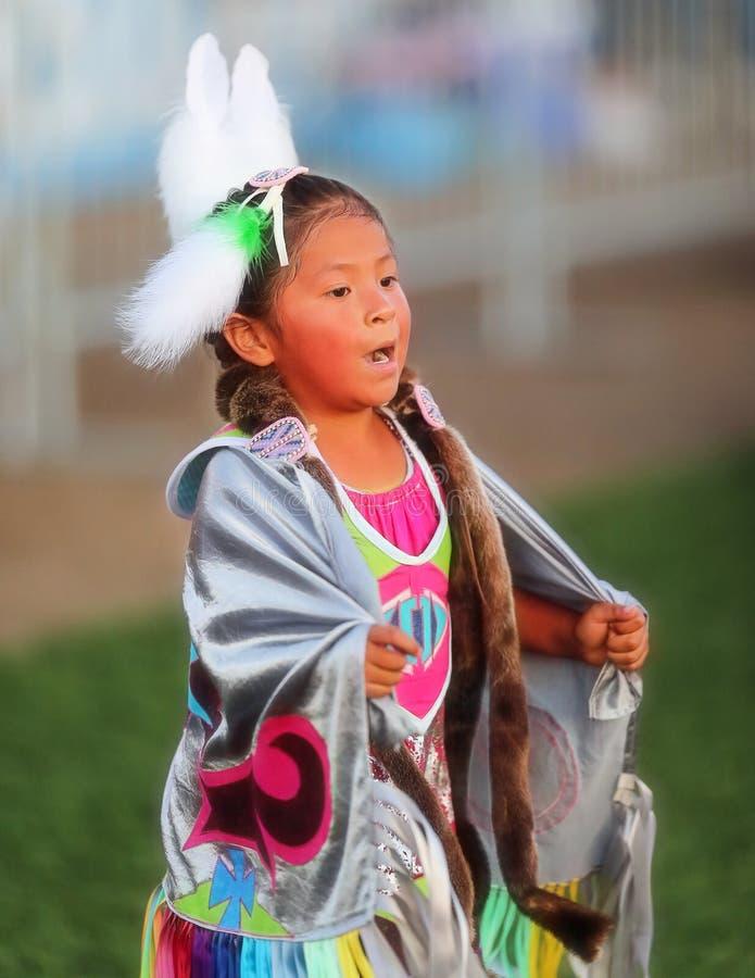 Jonge Inheemse Danser stock afbeelding