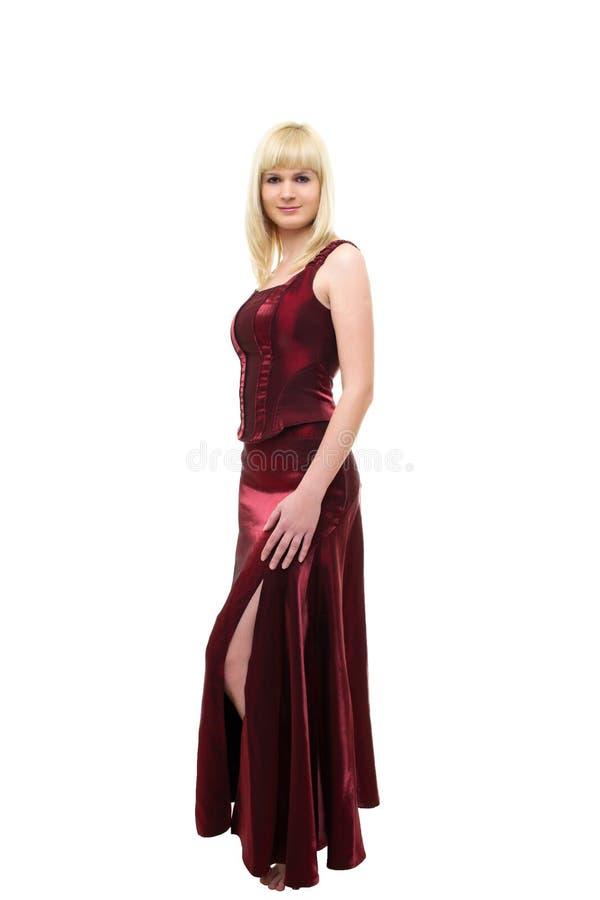 Jonge blonde vrouw royalty-vrije stock afbeeldingen