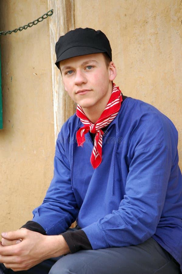 Jonge Landbouwer. Royalty-vrije Stock Foto