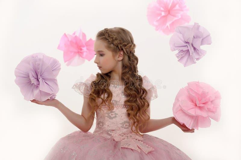Jonge magische fee stock foto's