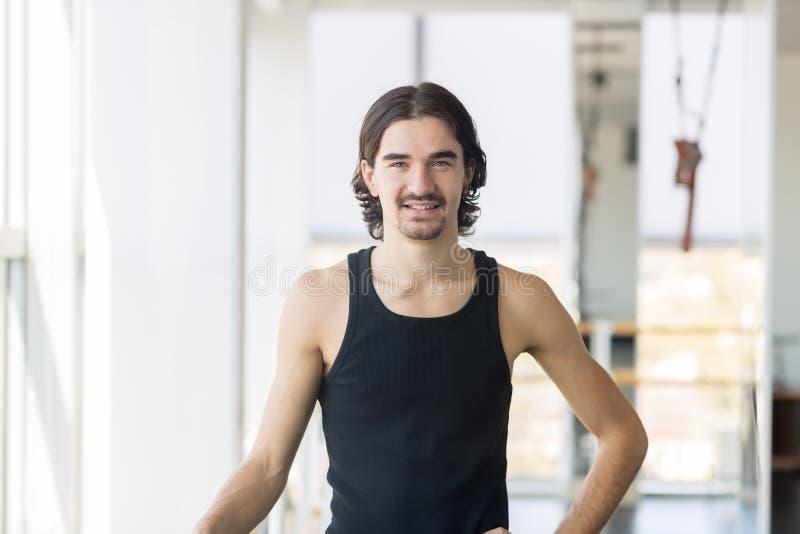 Jonge Mannelijke Balletdanser, Mensen Gelukkige Glimlach royalty-vrije stock foto