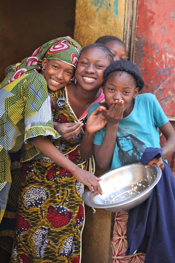 Jonge meisjes royalty-vrije stock foto