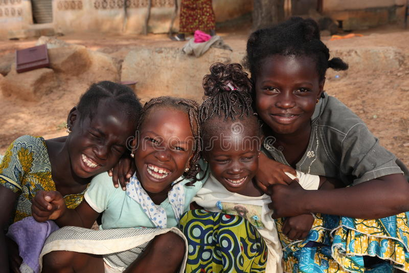 Jonge meisjes royalty-vrije stock afbeelding