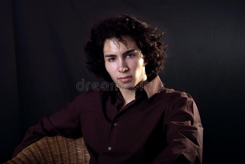 Jonge mens royalty-vrije stock foto