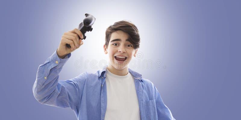 Jonge mens met uitdrukking stock afbeeldingen