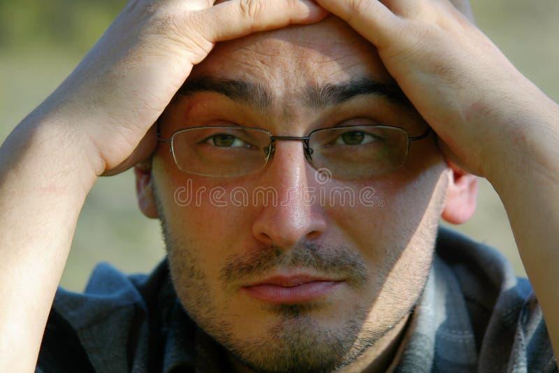 Jonge Mensenportret Royalty-vrije Stock Afbeelding