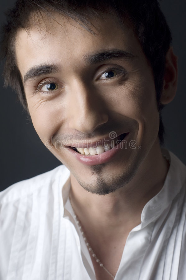 Jonge mensenportret stock foto