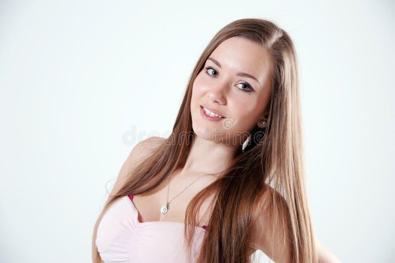 Download Jonge mooie vrouw stock foto. Afbeelding bestaande uit sluit - 29510038