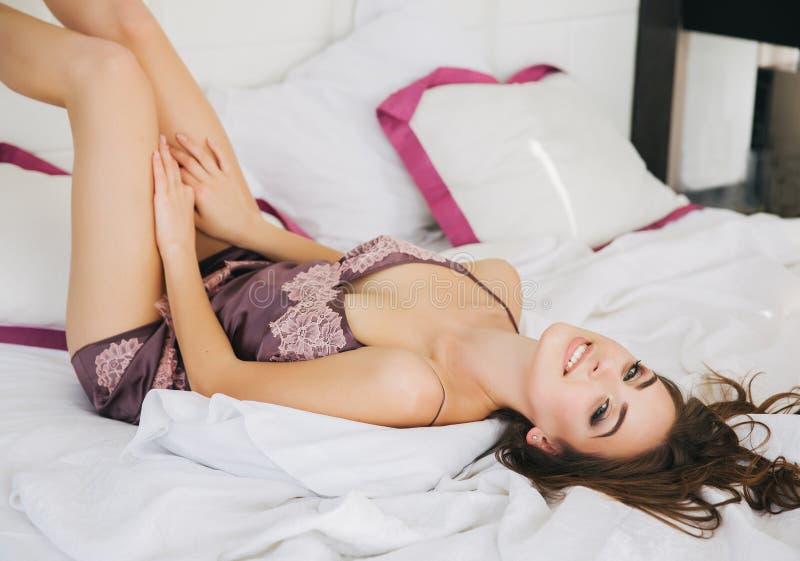 Jonge Mooie Vrouw stock fotografie