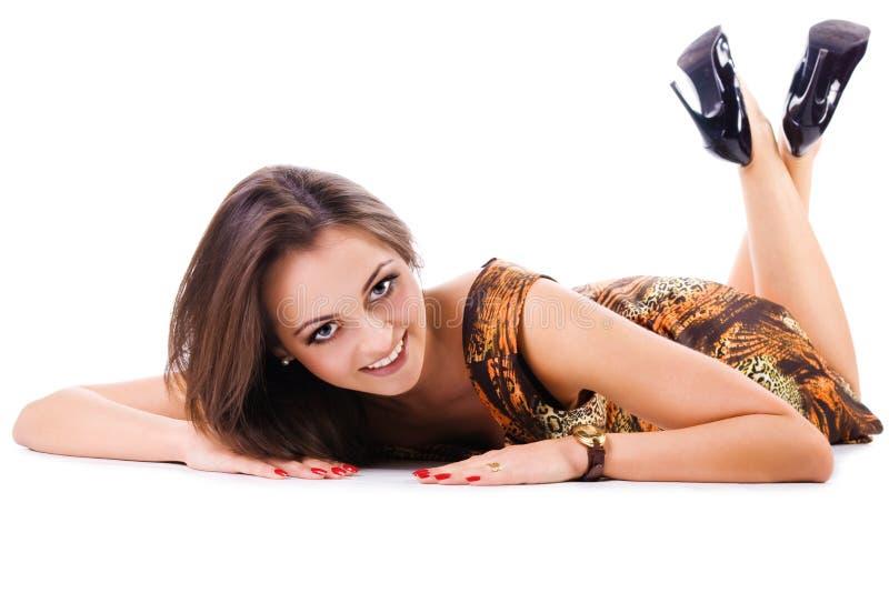 Jonge mooie vrouwen stock afbeeldingen