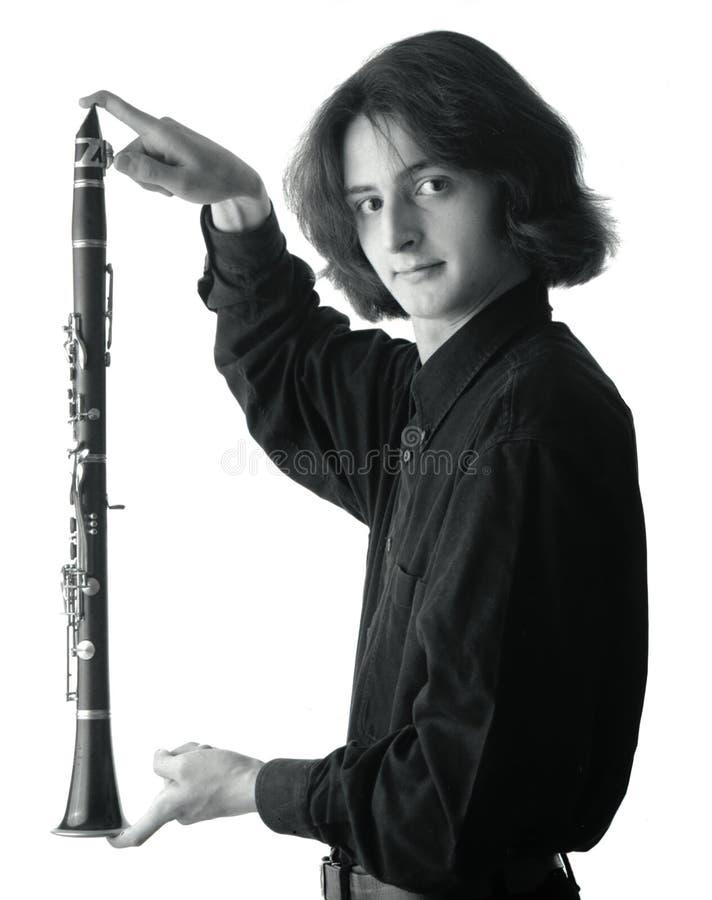 Jonge musicus royalty-vrije stock fotografie