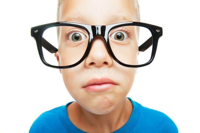 Jonge nerd royalty-vrije stock afbeelding