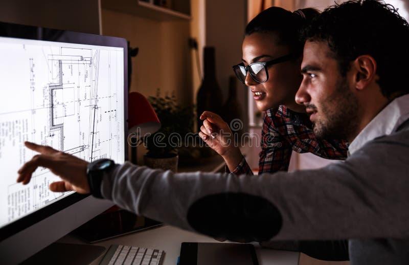 Jonge ontwerpers royalty-vrije stock foto