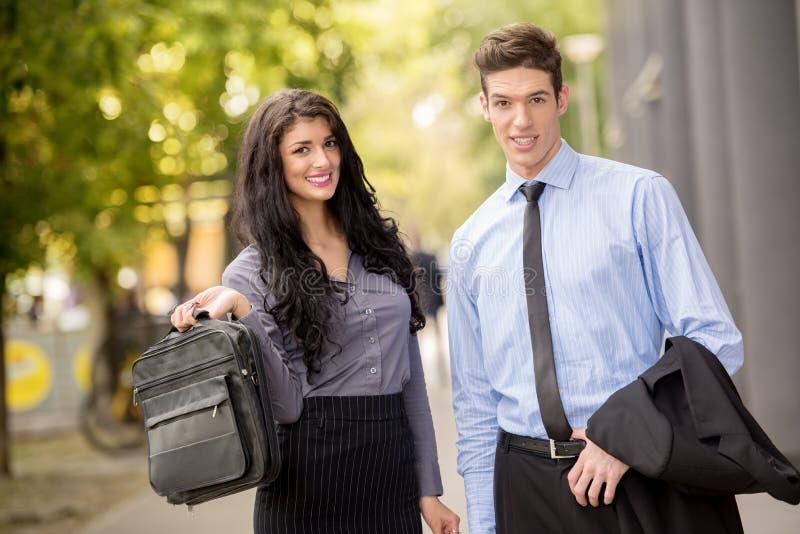 Jonge Partners stock fotografie