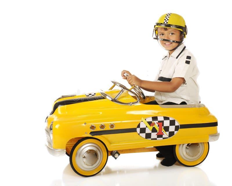 Jonge Raceauto stock afbeeldingen