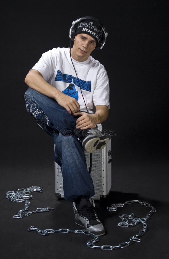 Jonge Rapper royalty-vrije stock afbeelding