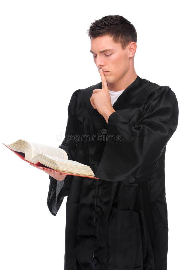 Jonge rechter royalty-vrije stock afbeelding