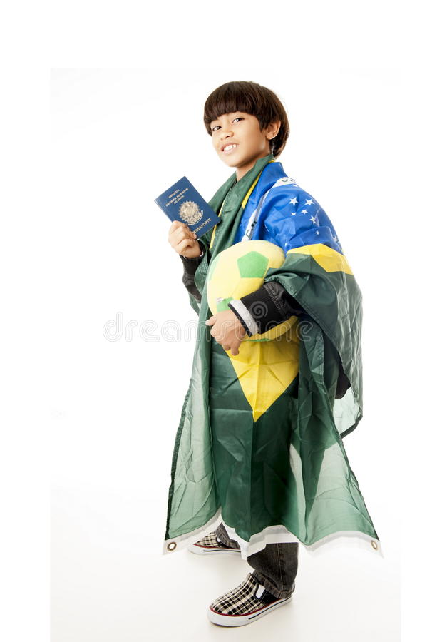 Jonge Reiziger royalty-vrije stock afbeelding