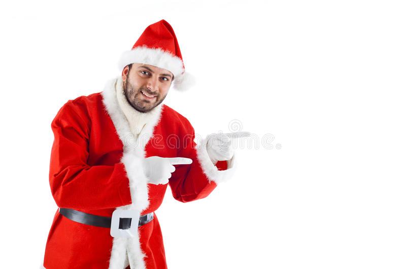 Jonge Santa Claus stock fotografie