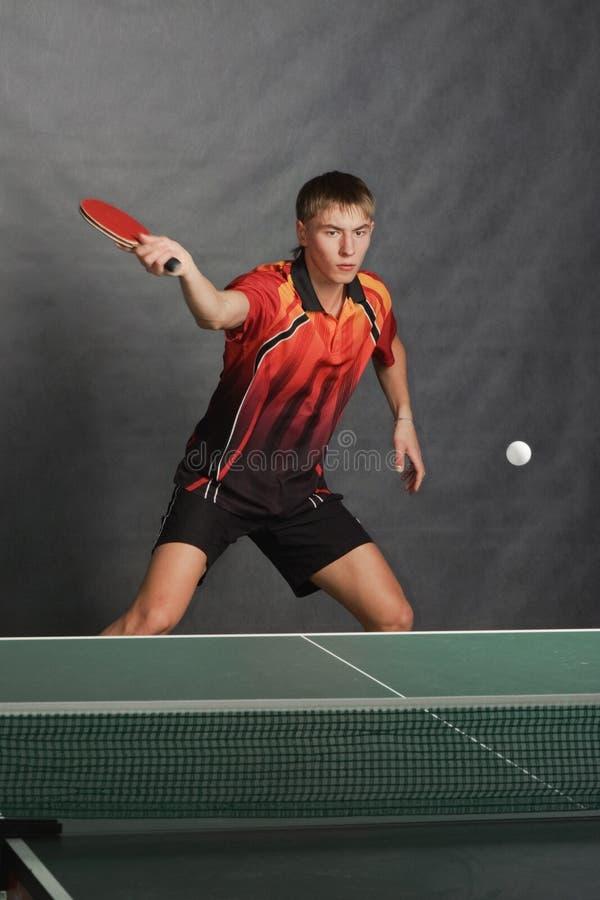 Jonge sportman royalty-vrije stock foto's