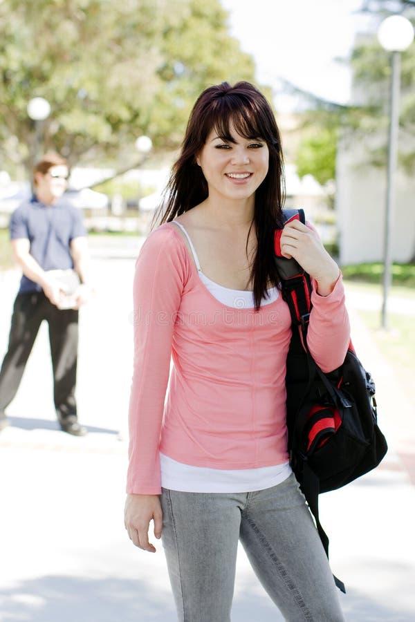 Jonge student stock afbeeldingen