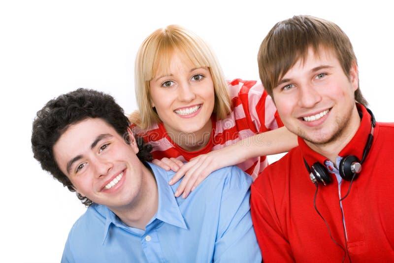 Jonge studenten royalty-vrije stock afbeelding