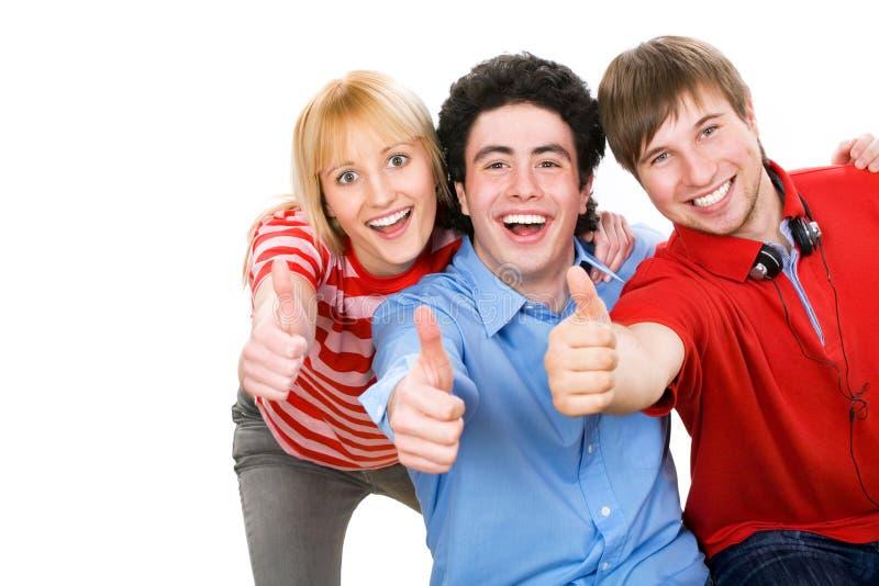 Jonge studenten stock foto's