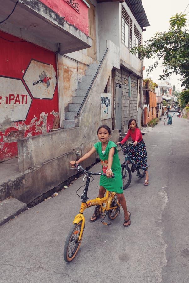 Jonge tieners, Manado Nort Sulawesi Indonesië stock foto