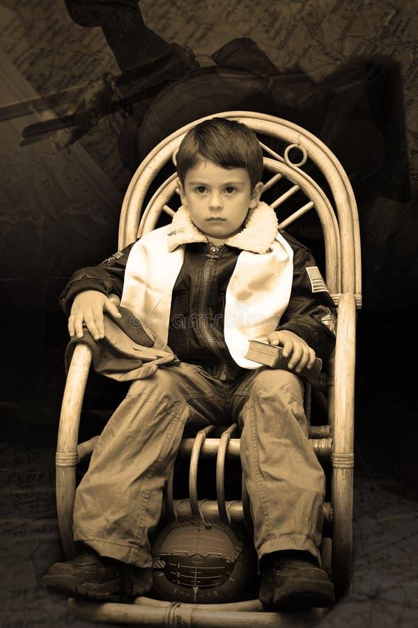 Jonge uitstekende stijl proef stock fotografie