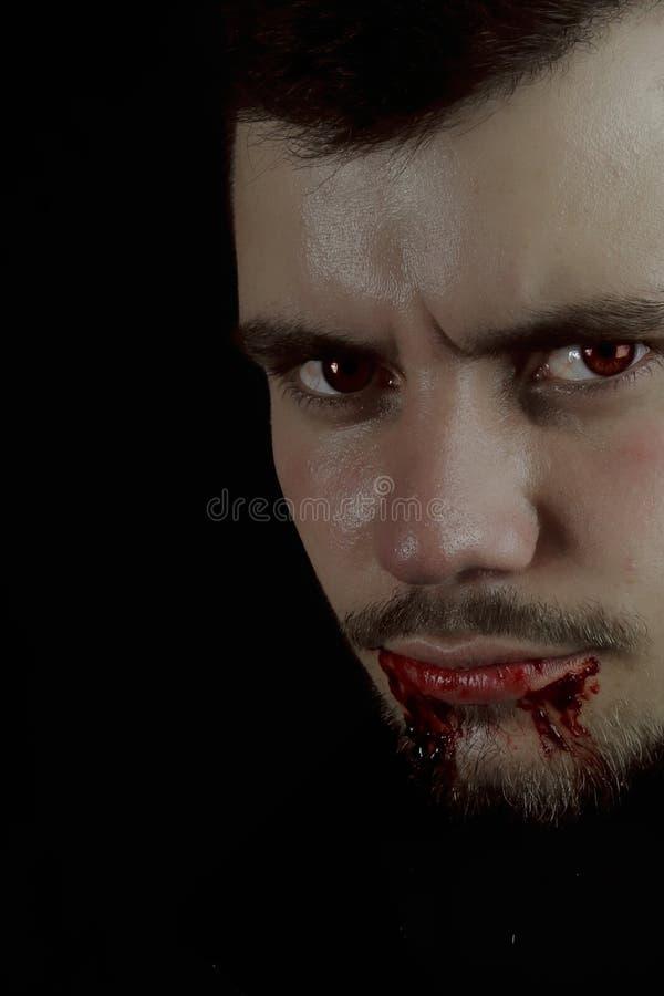 Jonge vampier royalty-vrije stock afbeeldingen