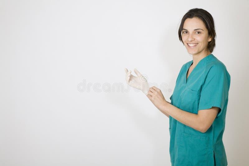 Jonge verpleegster royalty-vrije stock foto