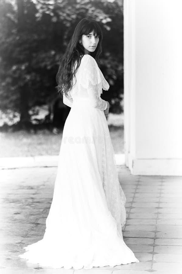 Jonge victorian dame royalty-vrije stock foto