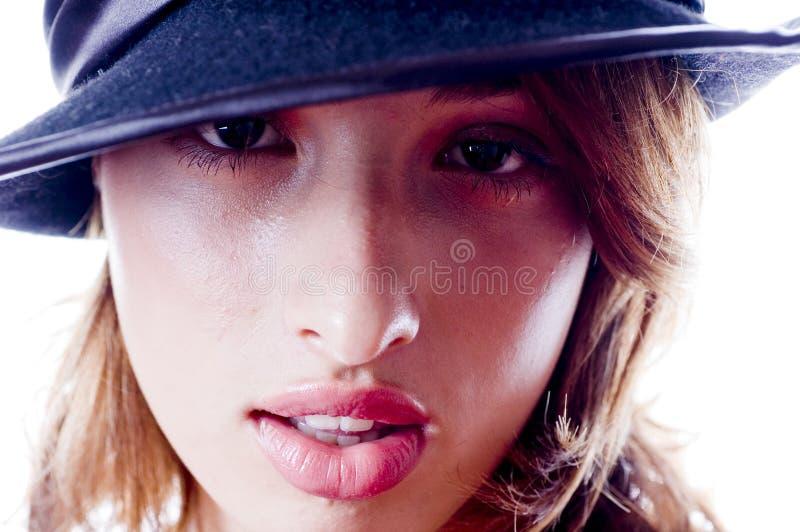 Jonge Volwassen Vrouw royalty-vrije stock foto