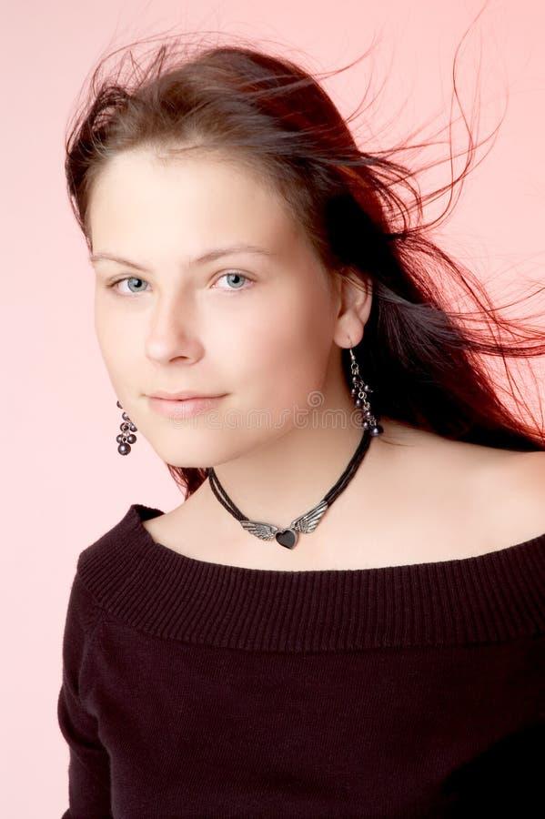 Jonge vrouw stock foto