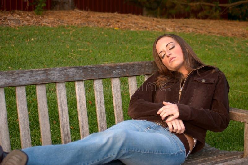 Jonge Vrouw 18 royalty-vrije stock afbeeldingen