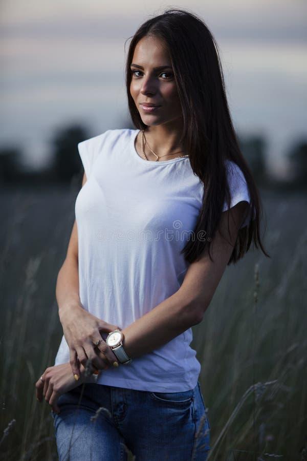 Jonge Vrouw 20 stock afbeelding