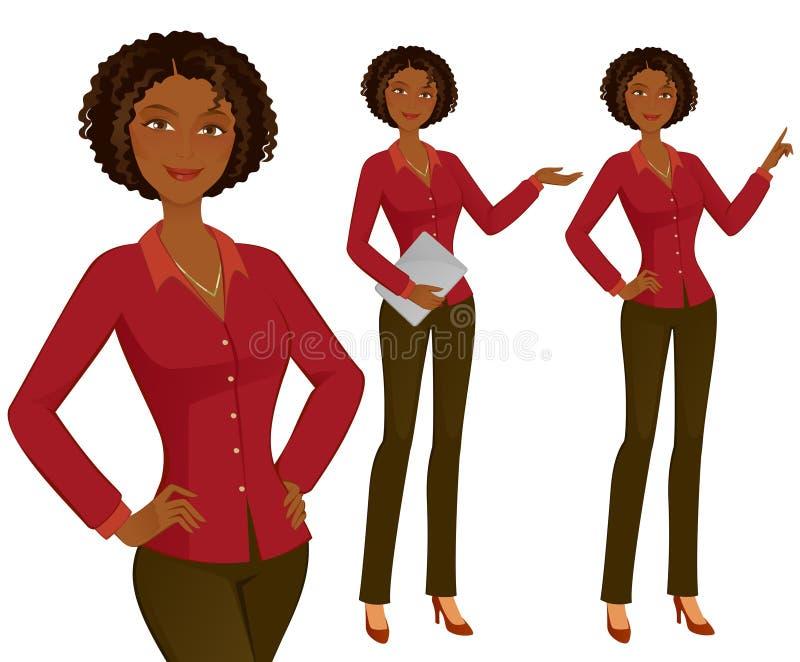 Jonge Vrouw 15 stock illustratie