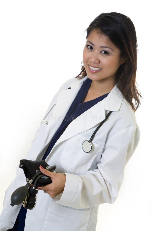 Jonge vrouw arts royalty-vrije stock afbeeldingen
