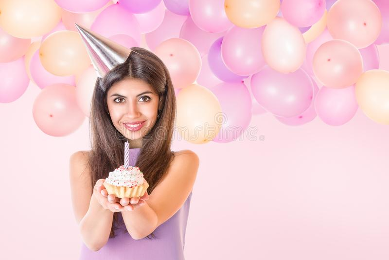 Verjaardag Jonge Vrouw
