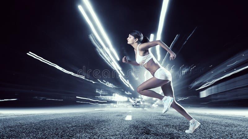 Jonge vrouw jogger royalty-vrije stock foto's