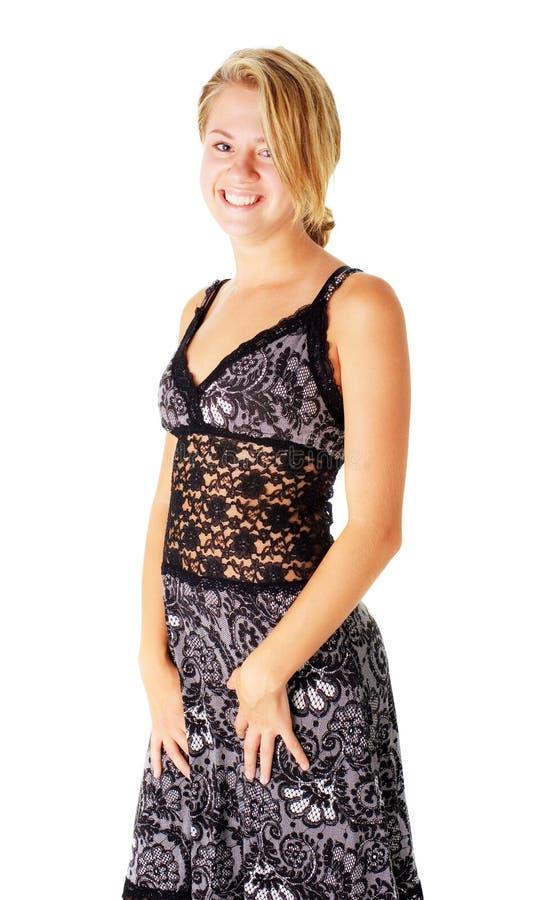 Download Jonge Vrouw In Kleding Op Wit Stock Foto - Afbeelding bestaande uit meisje, kleren: 10783466