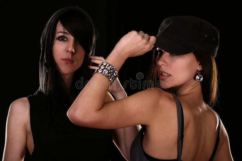 Jonge vrouwen royalty-vrije stock foto's