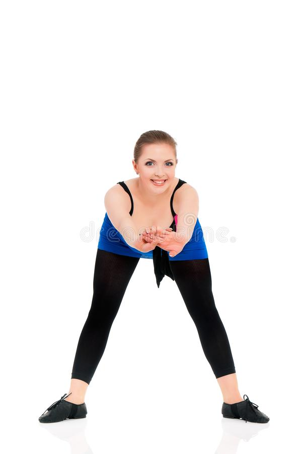 Jonge Vrouwendanser stock foto's
