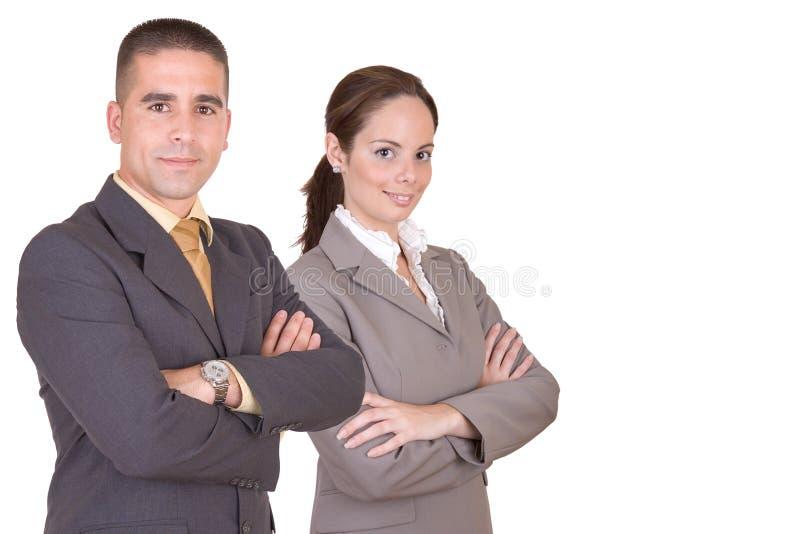 Jonge zaken workteam stock afbeeldingen