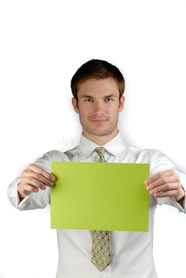 Jonge zakenman stock fotografie