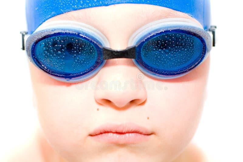 Jonge zwemmer. royalty-vrije stock foto's