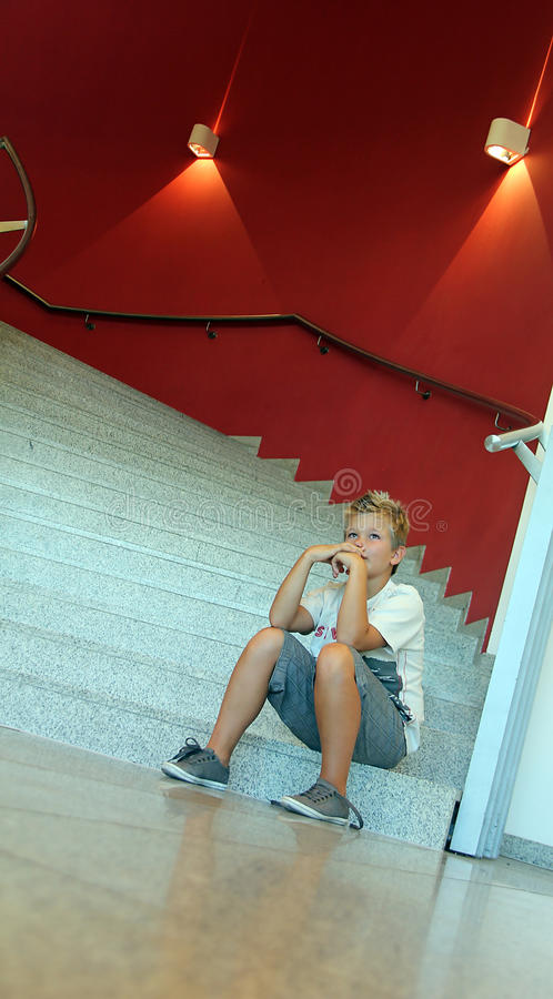 Jongen stock afbeelding