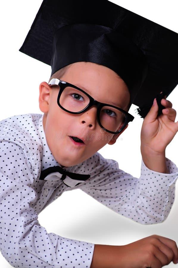 Jongen - een schooljongen stock afbeeldingen